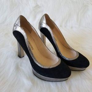 Aubrey Brooke Berry 2 Platform Heels